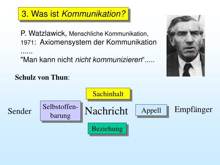 P. Watzlawick,