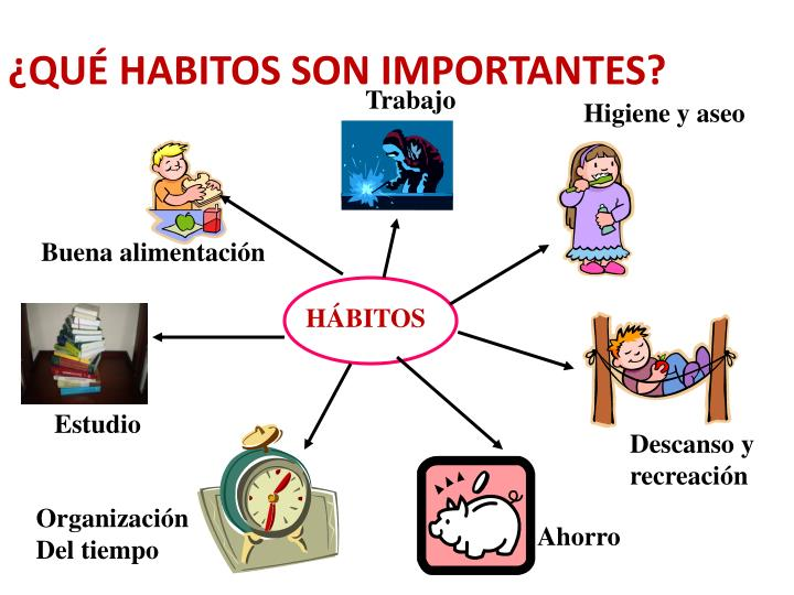 ¿QUÉ HABITOS SON IMPORTANTES?