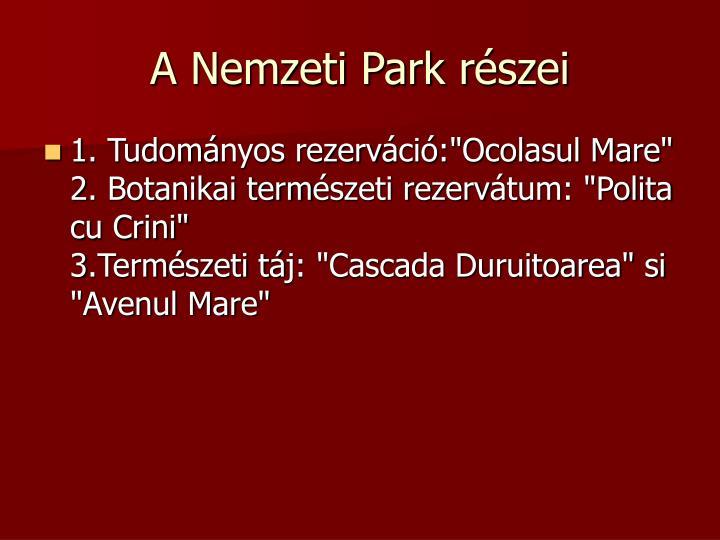 A Nemzeti Park r
