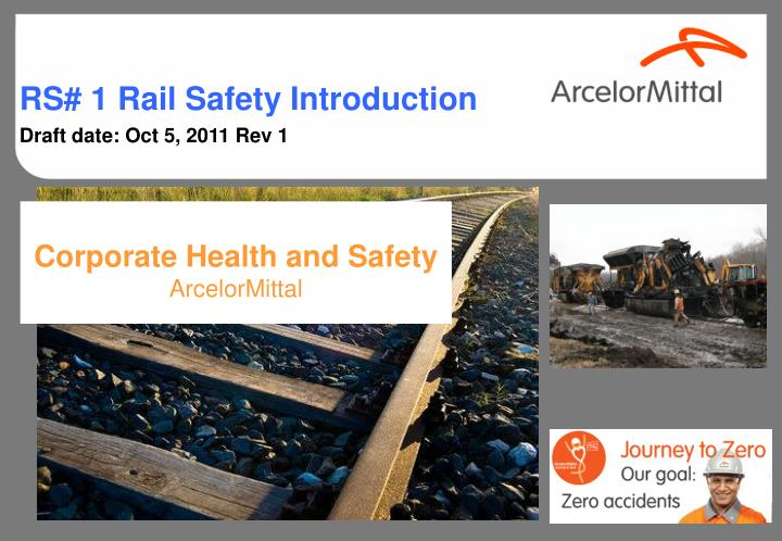 Corporate health and safety arcelormittal