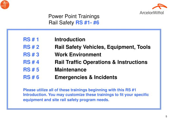Power Point Trainings