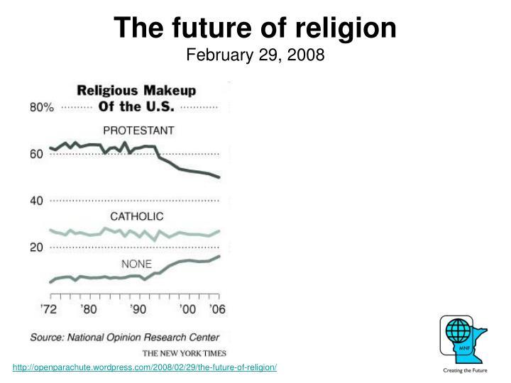 The future ofreligion