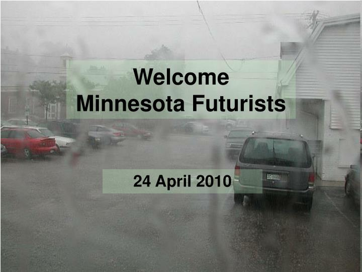 welcome minnesota futurists