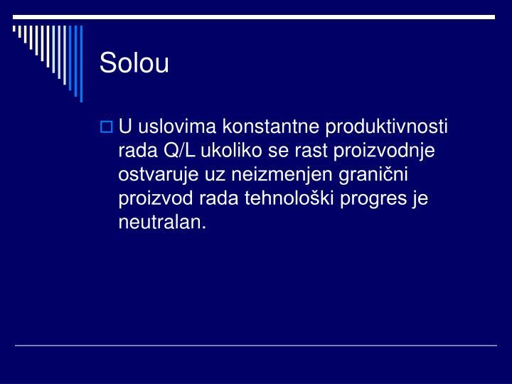 Solou