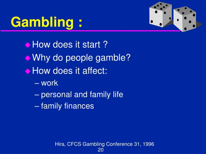 Gambling :