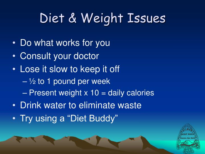Diet & Weight Issues