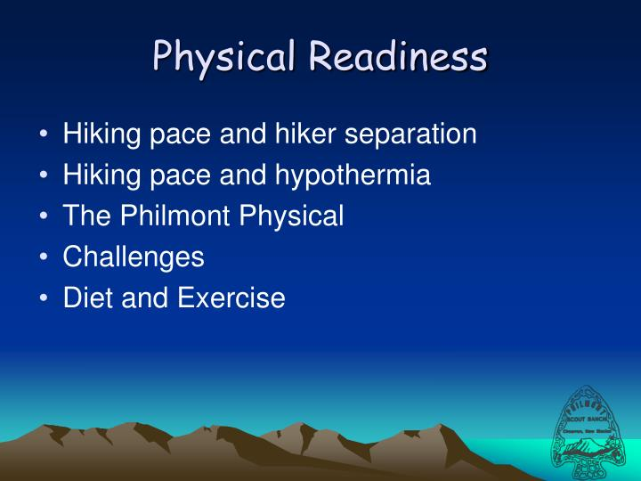 Physical Readiness