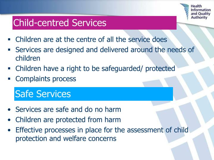 Child-centred Services