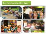best preschools in silver lake