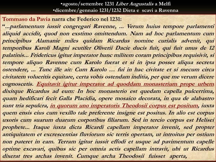 agosto/settembre 1231
