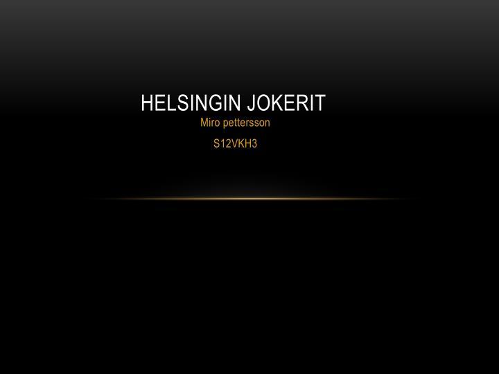 Helsingin Jokerit