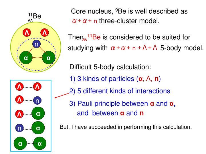 Core nucleus,