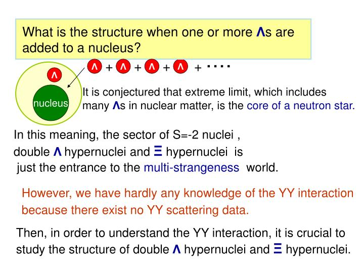 What is the structure when one or more