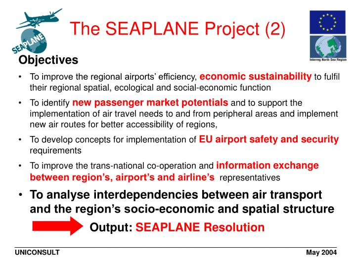 The SEAPLANE Project (2)
