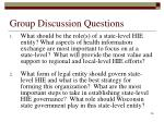 group discussion questions