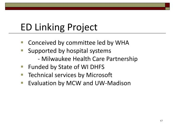 ED Linking Project