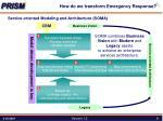 how do we transform emergency response2