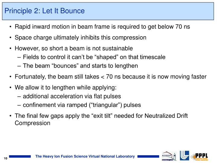 Principle 2: Let It Bounce