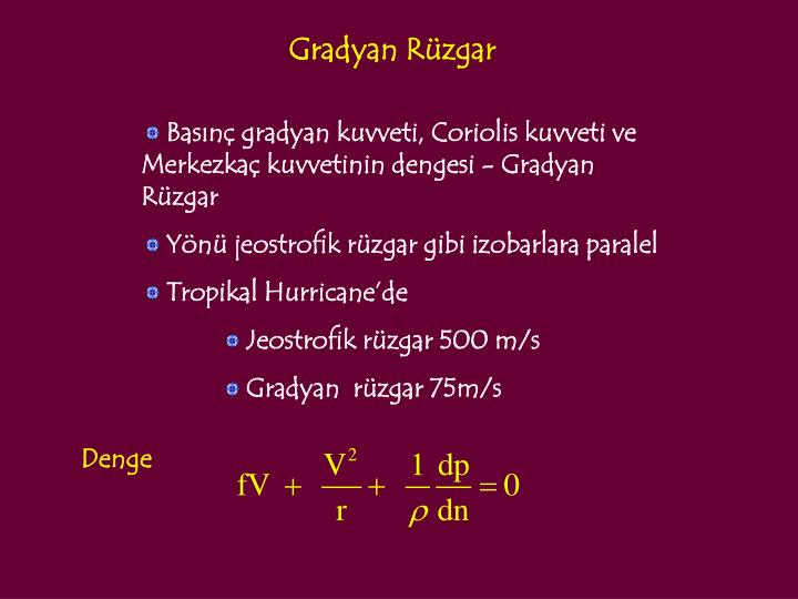Gradyan Rüzgar