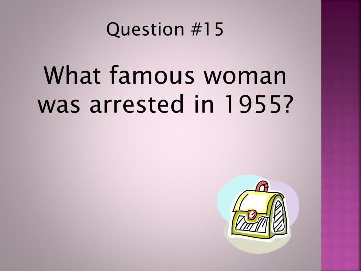 Question #15
