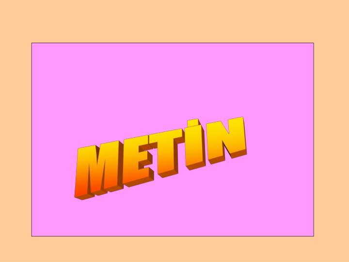 METİN