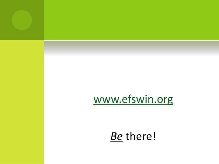 www.efswin.org