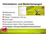 informations und medienkampagne