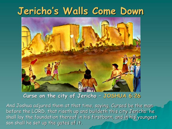 Jericho's Walls Come Down