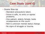 case study cont d