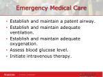 emergency medical care1