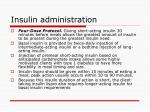 insulin administration7