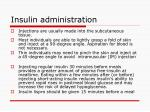 insulin administration8