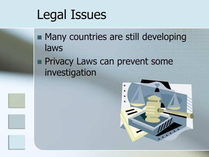 Legal Issues