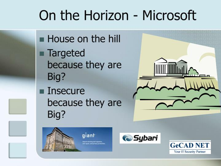 On the Horizon - Microsoft