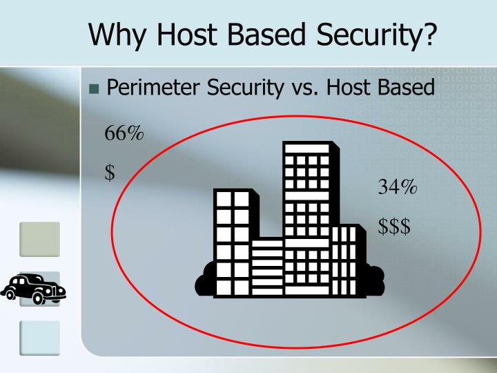 Why Host Based Security?