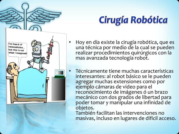 Cirugía Robótica