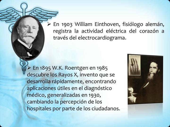 En 1903 William