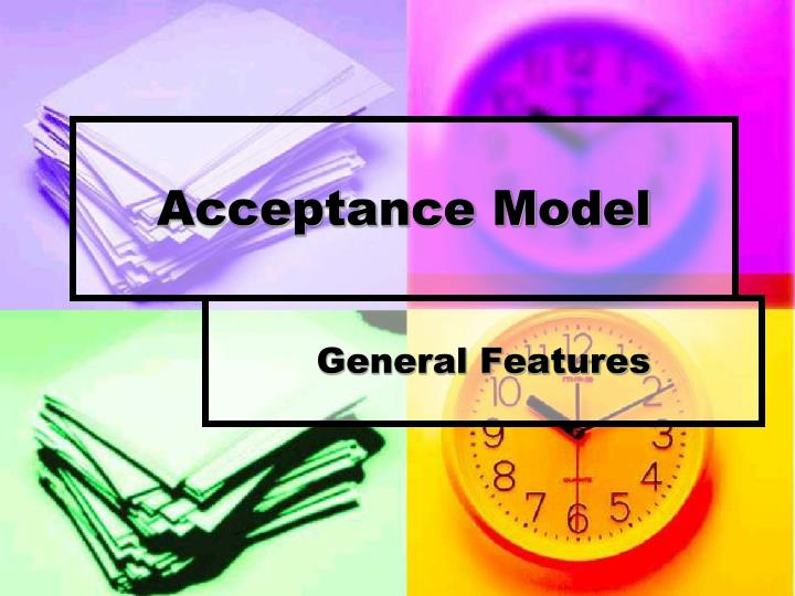 Acceptance Model