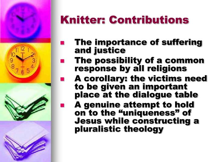 Knitter: Contributions