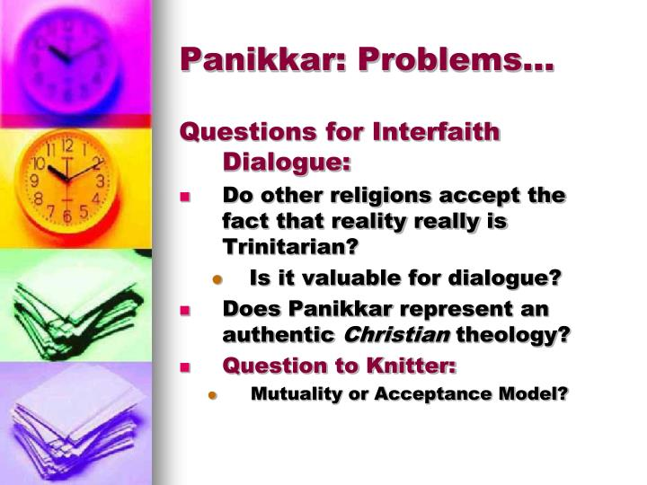 Panikkar: Problems…