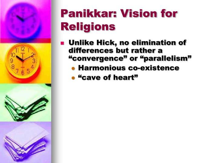 Panikkar: Vision for Religions