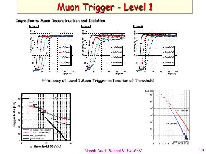 Muon Trigger - Level 1