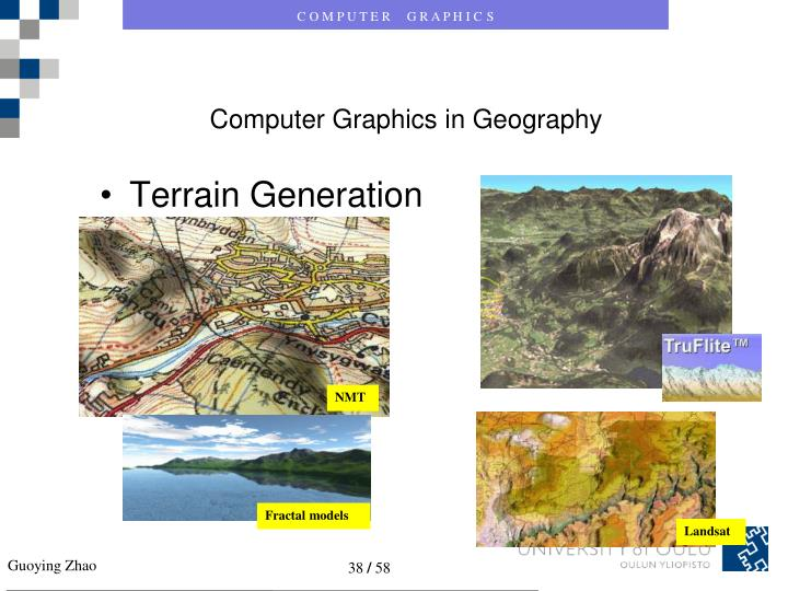 Computer Graphics in Geography