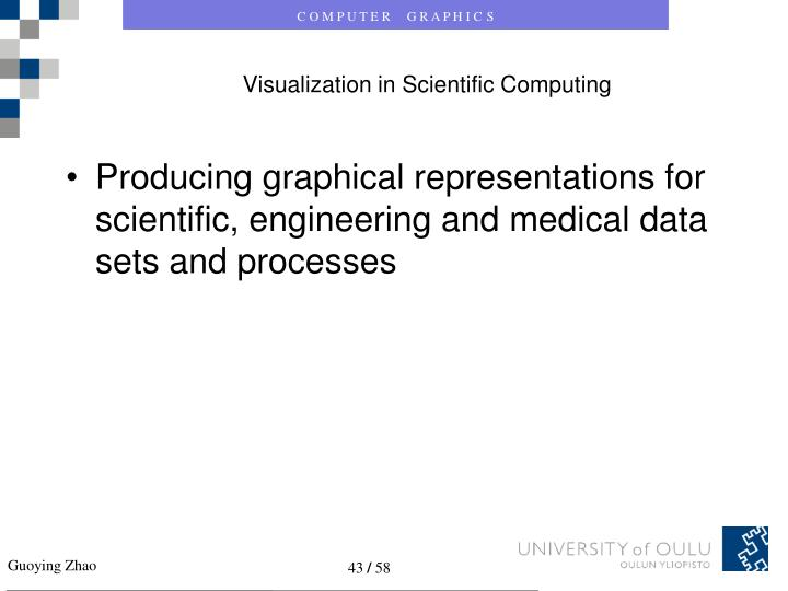 Visualization in Scientific Computing