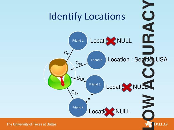 Identify Locations