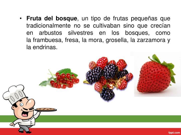 Fruta del bosque