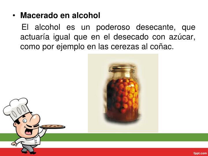 Maceradoenalcohol