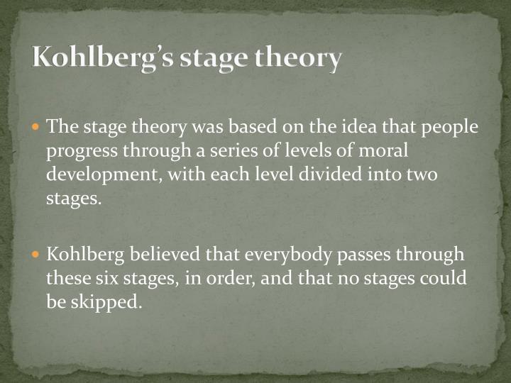 Kohlberg's stage theory