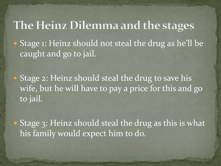 The Heinz Dilemma and the stages