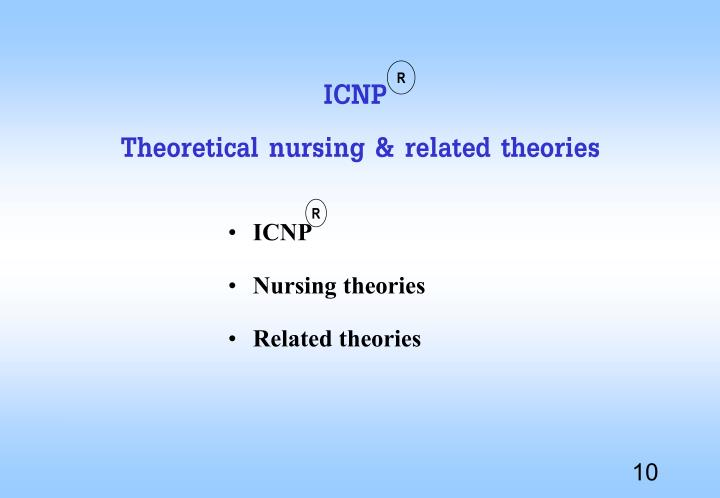 Middle range nursing theories and evidence based practice